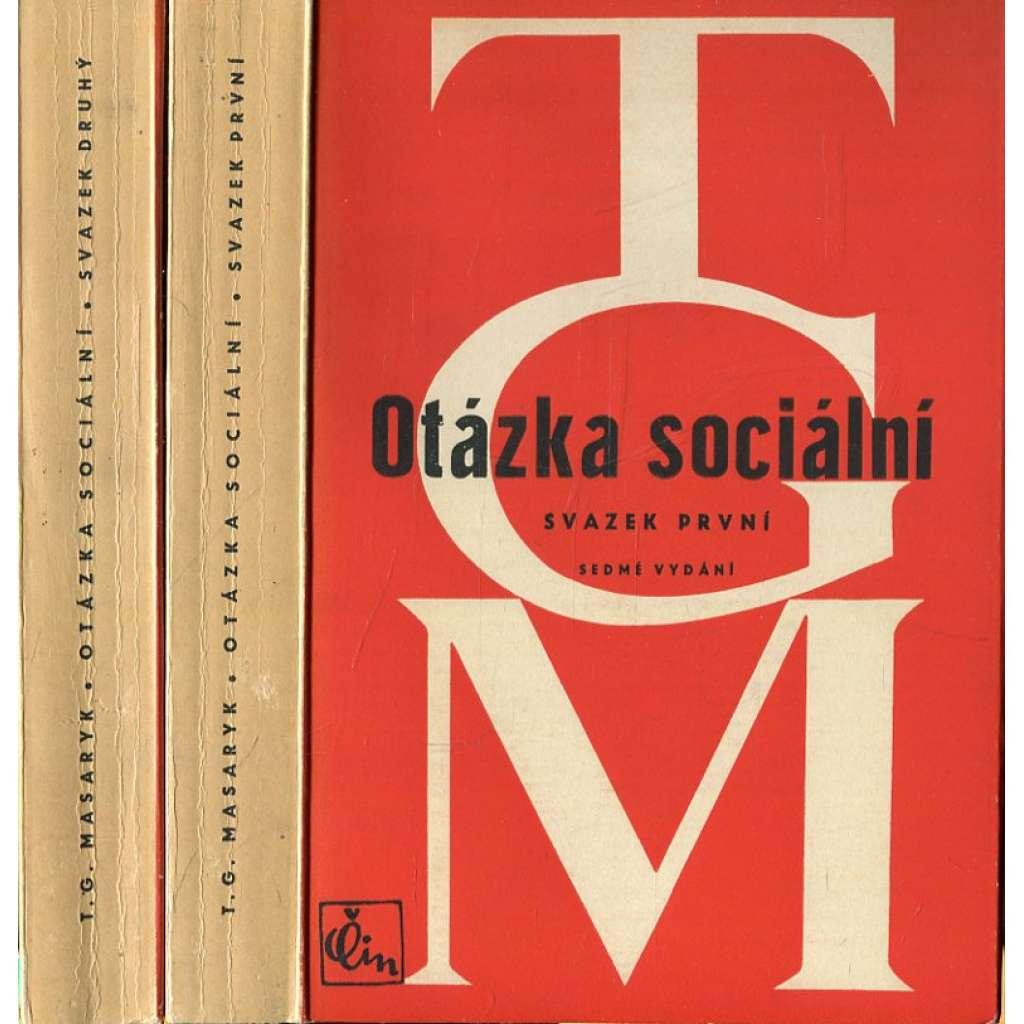 Otázka sociální I. a II. (2. svazky)