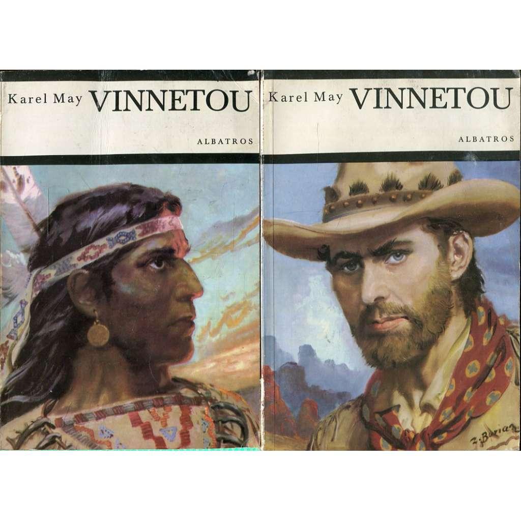 Vinnetou I.-II. (2 svazky)