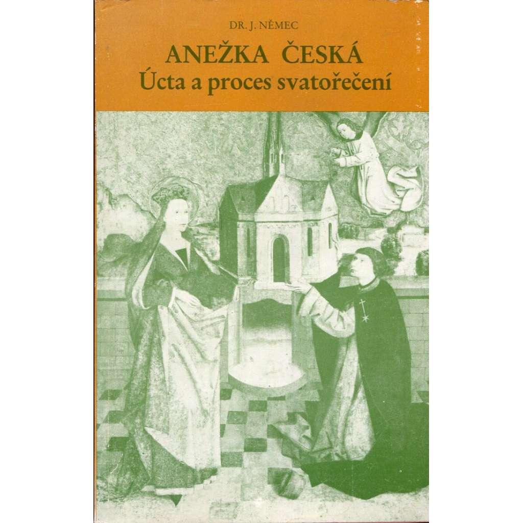 Anežka Česká – Úcta a proces svatořečení (exil)