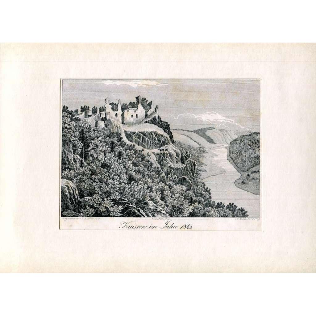 F. A. Heber – Hrad Křašov (Krassow), Bohy, Plzeň (České hrady, zámky a tvrze)