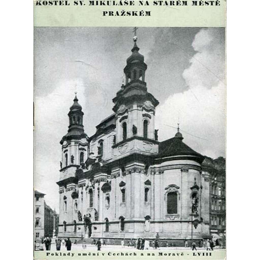 Kostel sv. Mikuláše na Starém Městě pražském
