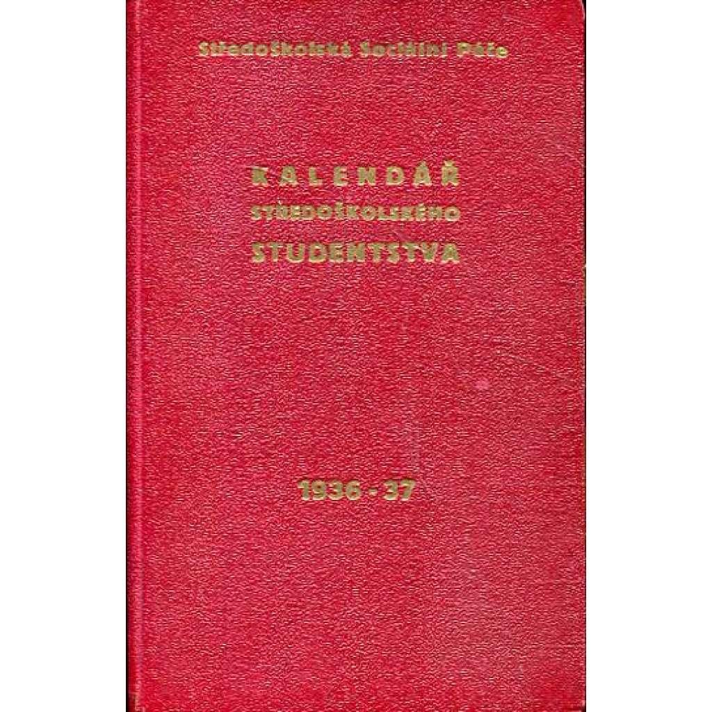 Kalendář středoškolského studentstva, 1936-37