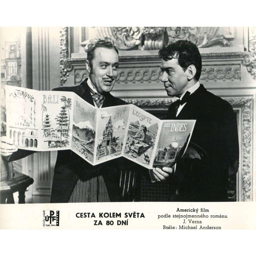 Fotoska - film Cesta kolem světa za 80 dní (Verne, Cantinflas, Anderson)
