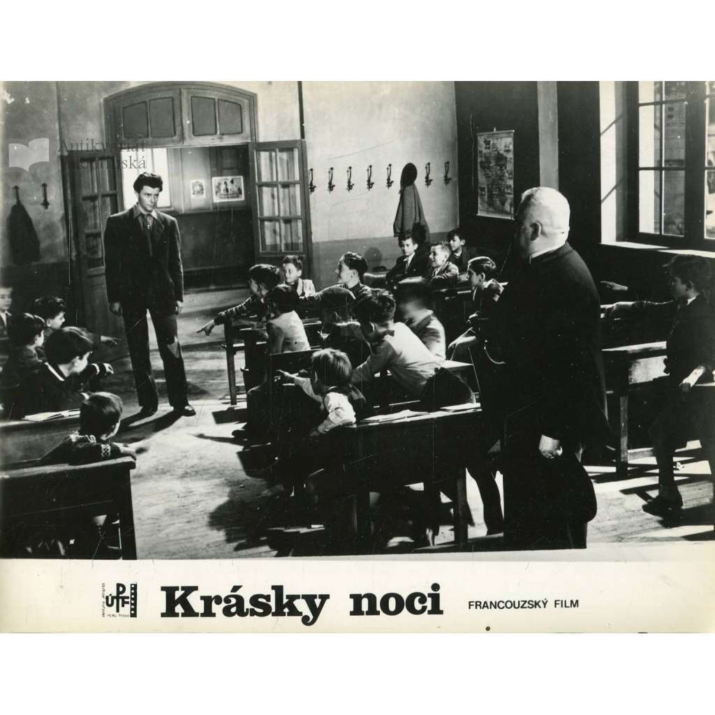 Fotoska - film Krásky noci (R. Clair, G. Philipe)