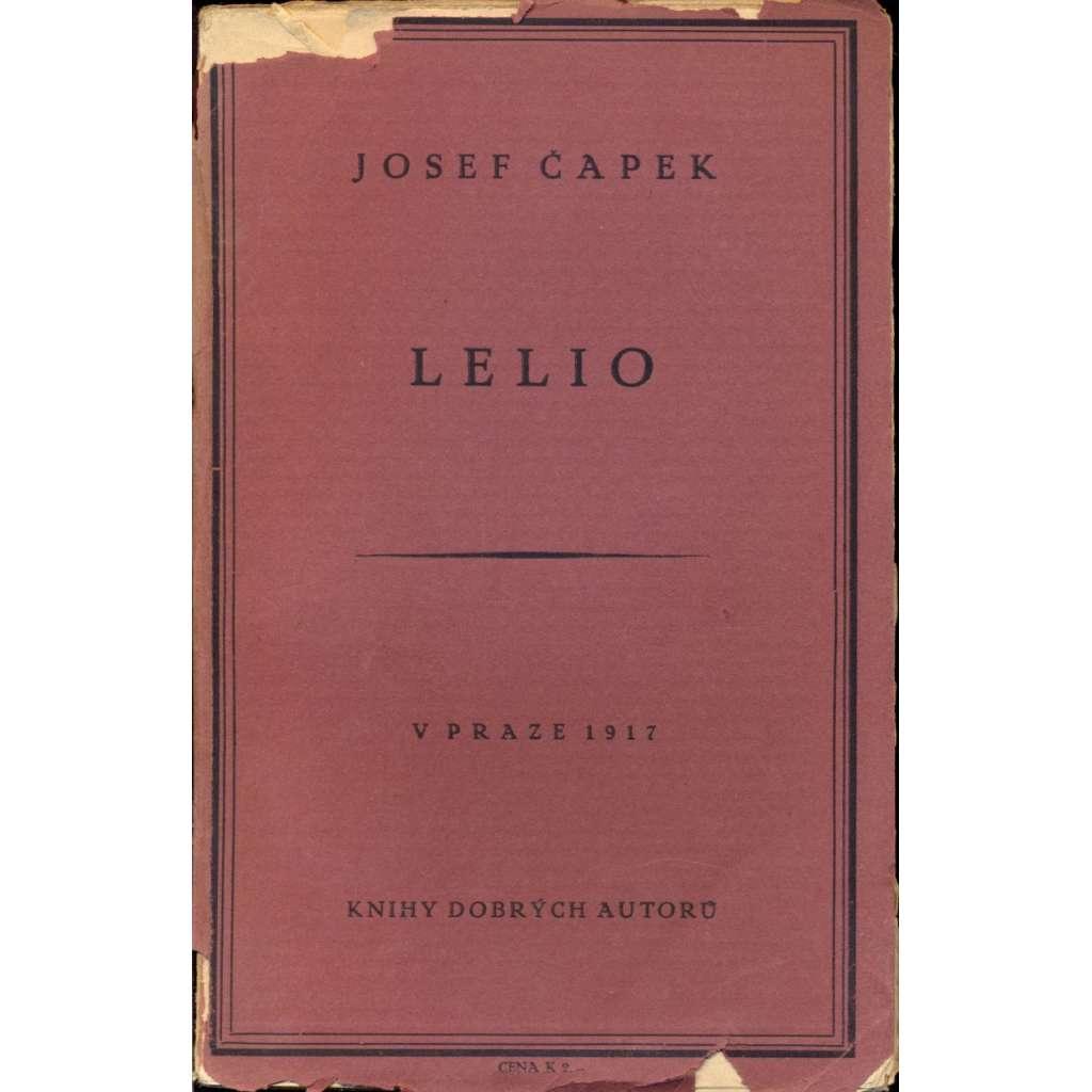 Lelio (Knihy dobrých autorů, 1917)