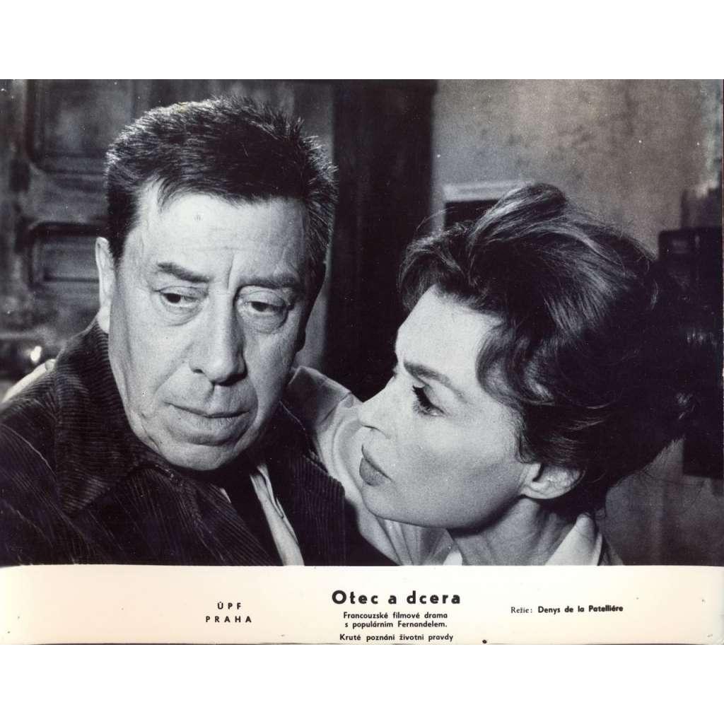 Fotoska - film Otec a dcera (D. de La Patellière, Fernandel, Palmerová)