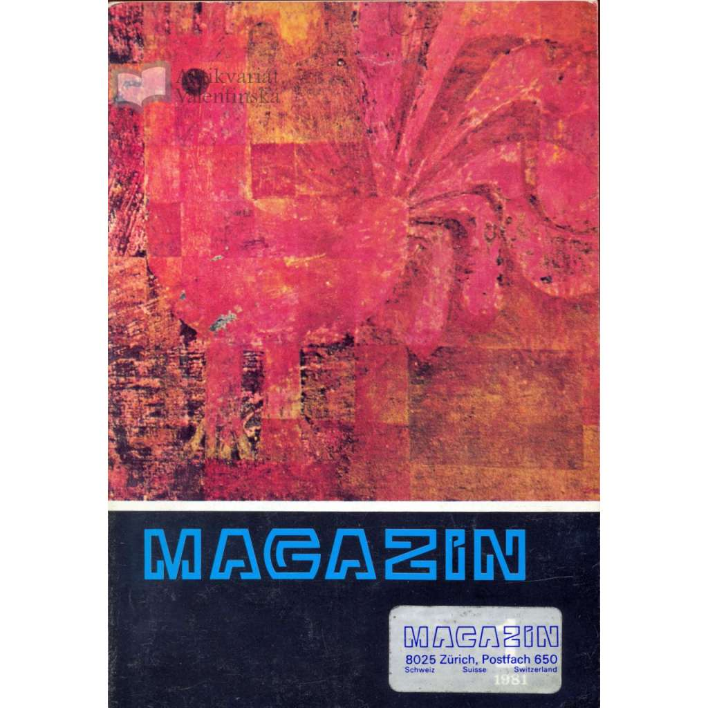 Magazín, ukázkové číslo (1980)