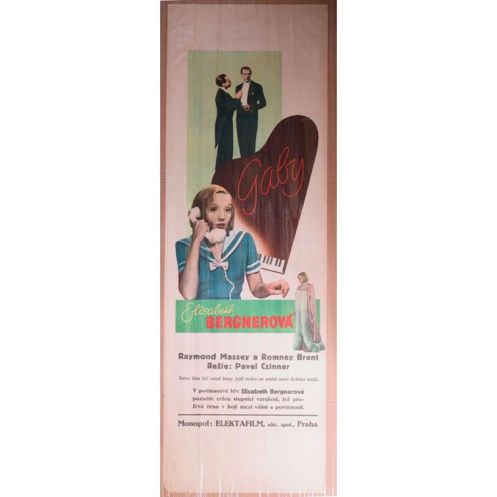 Gaby (film, 1937) filmový plakát