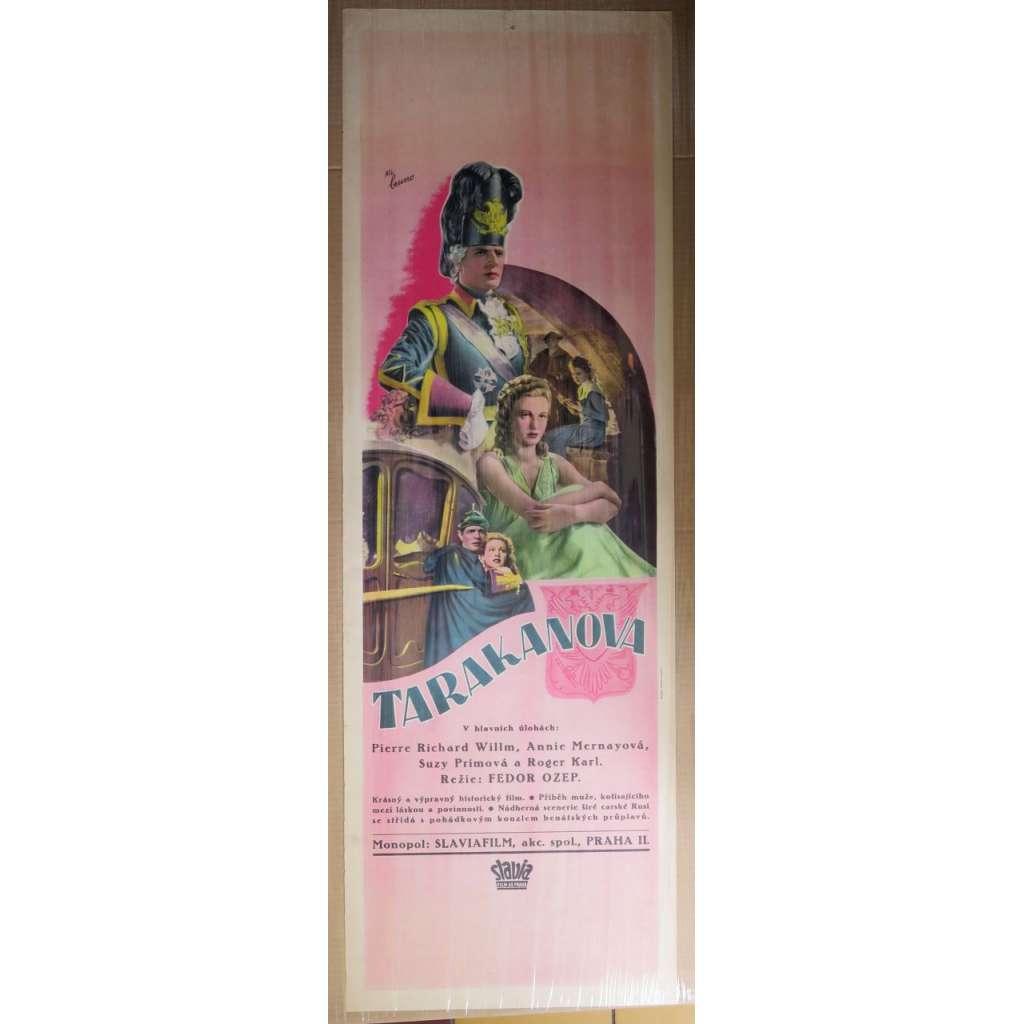 Tarakanova - (film 1930) filmový plakát