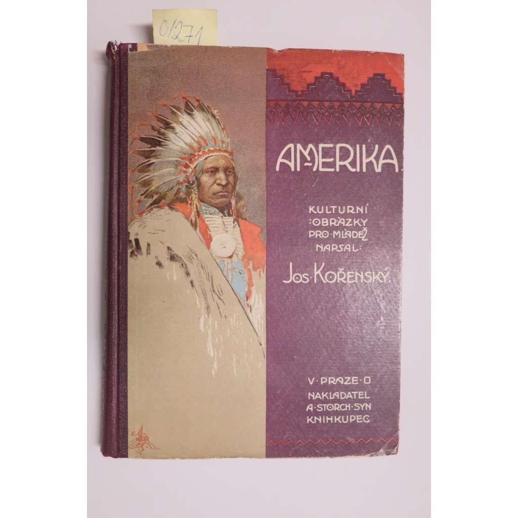 Amerika. Kulturní obrázky - Severní Amerika