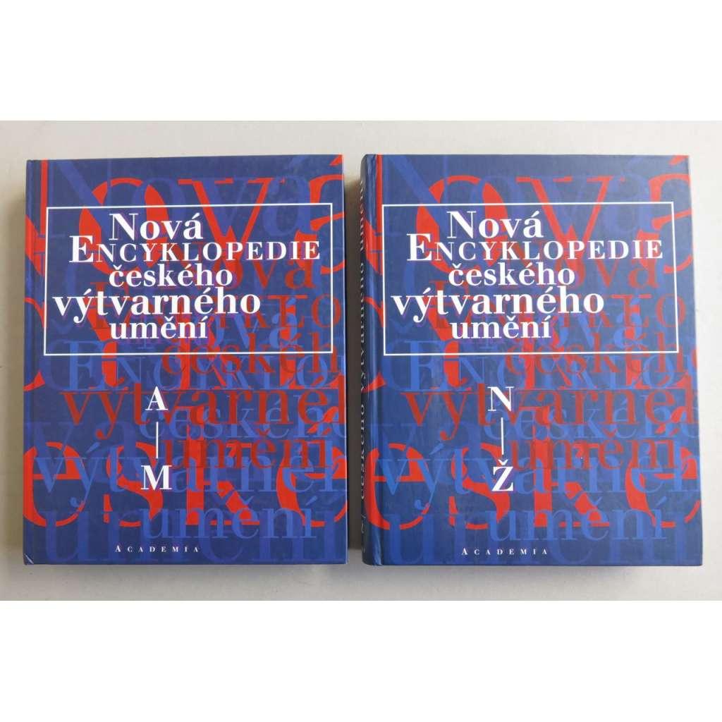 Nová encyklopedie českého výtvarného umění 1+2