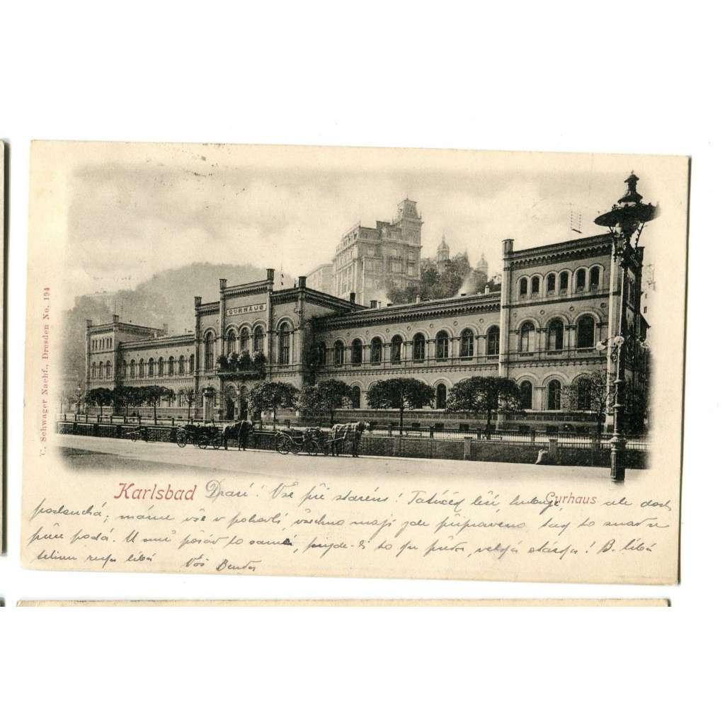 Karlovy Vary Karlsbad, kočár