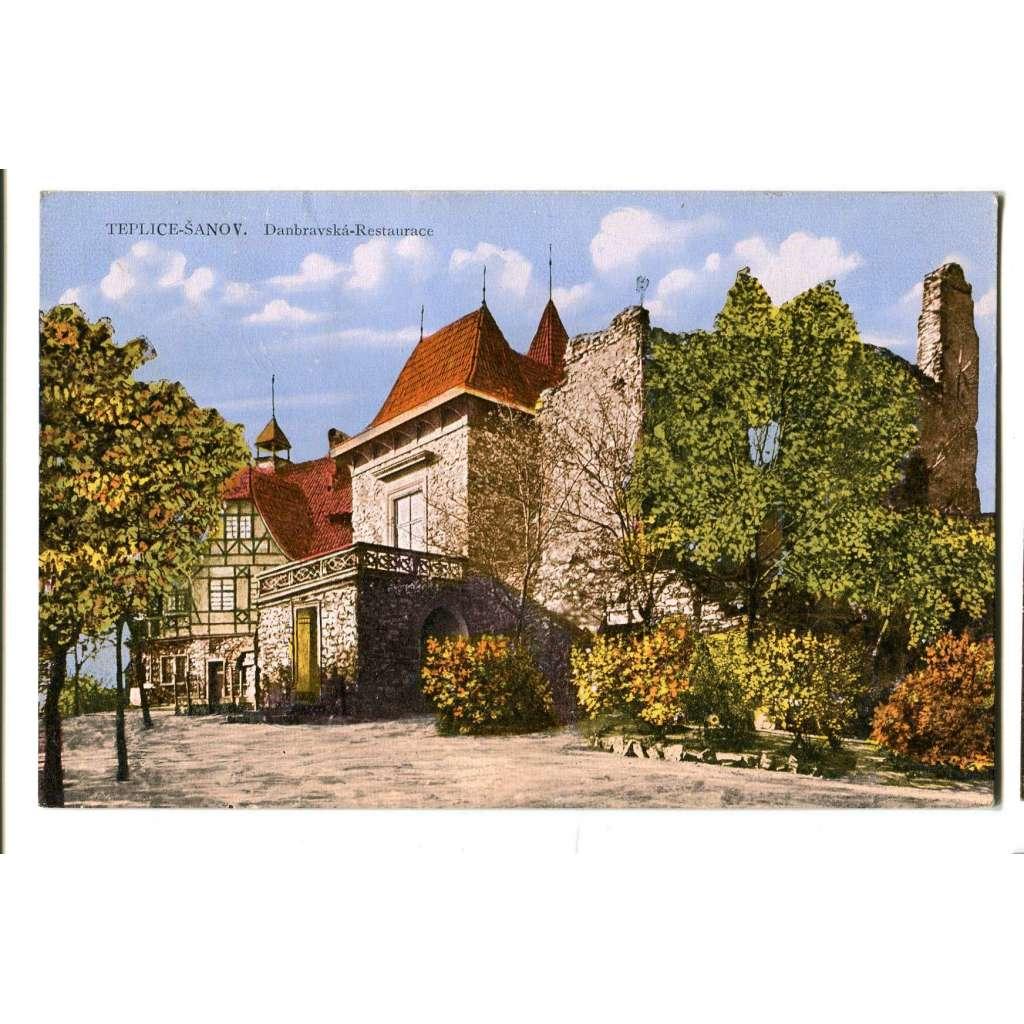 Teplice, Doubravská hora, restaurace