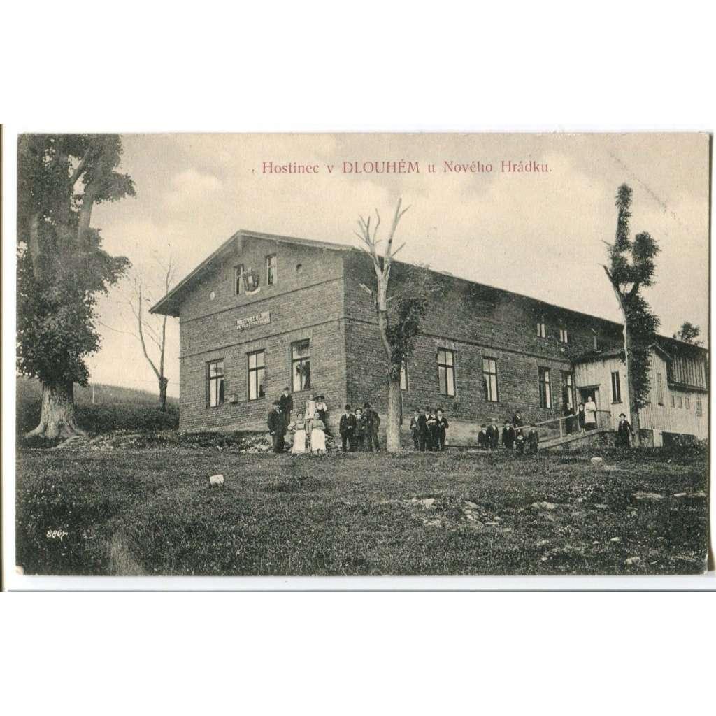 Dlouhé, Nový Hrádek, Nové Město nad Metují, Rychnov nad Kněžnou, hostinec u Lípy