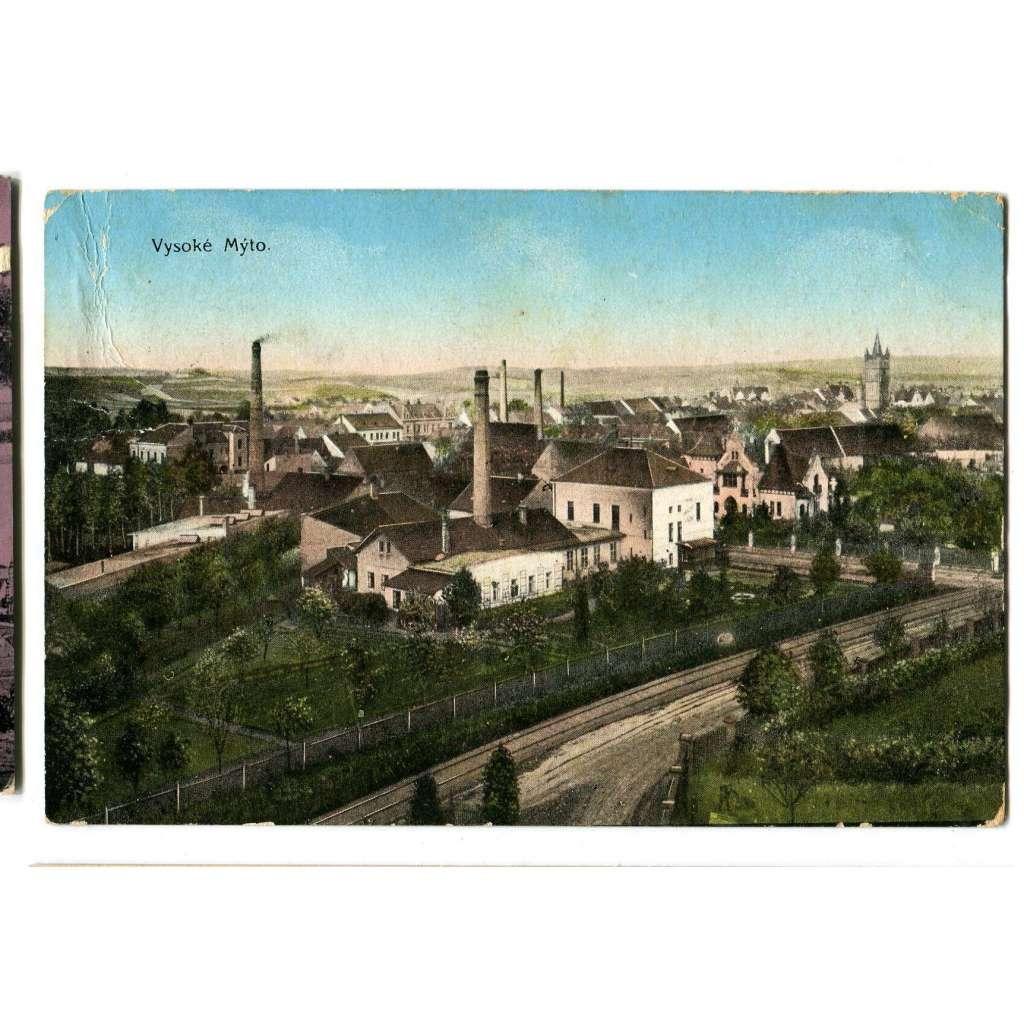 Vyskoké Mýto, Ústí nad Orlicí, továrna