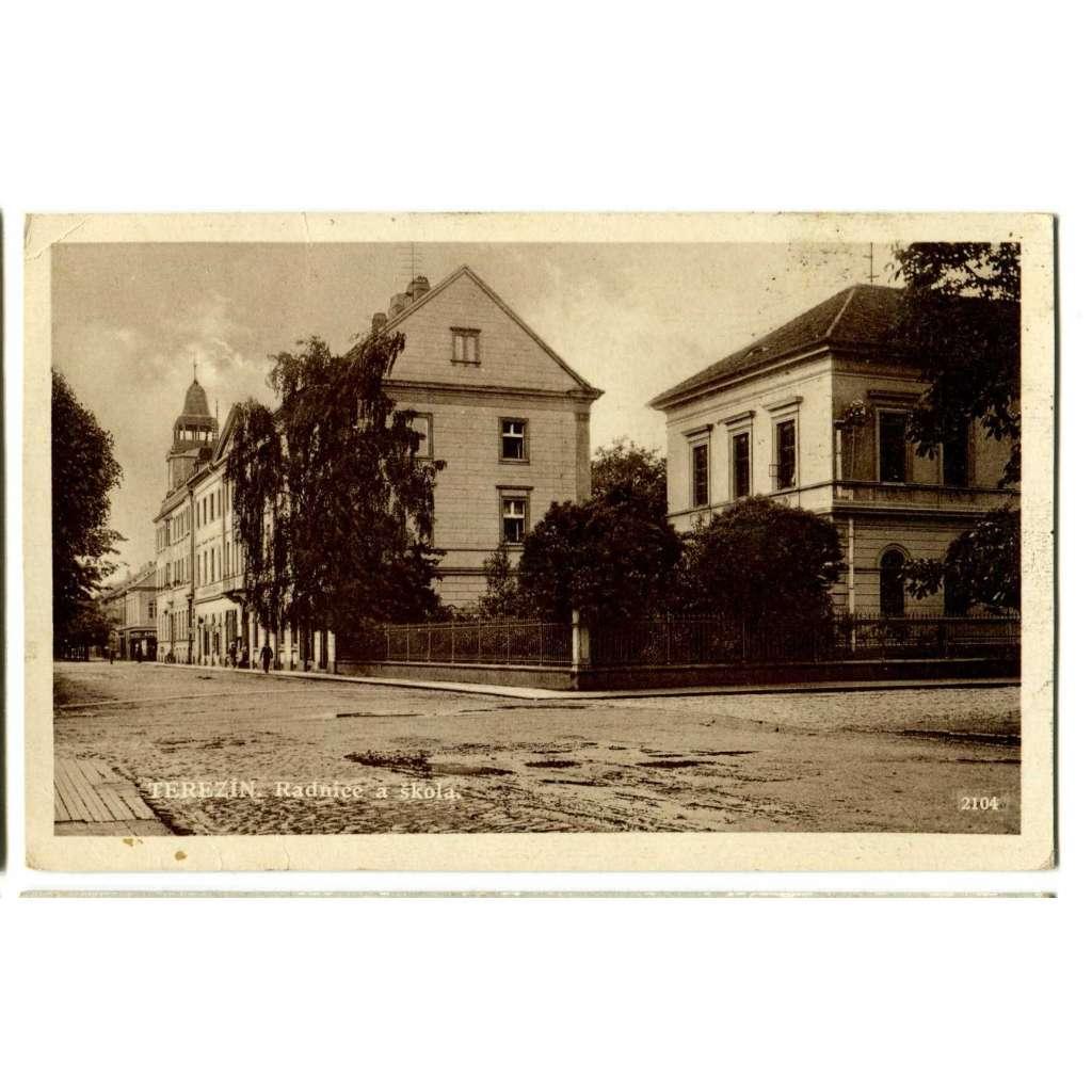 Terezín, Litoměřice,, .škola
