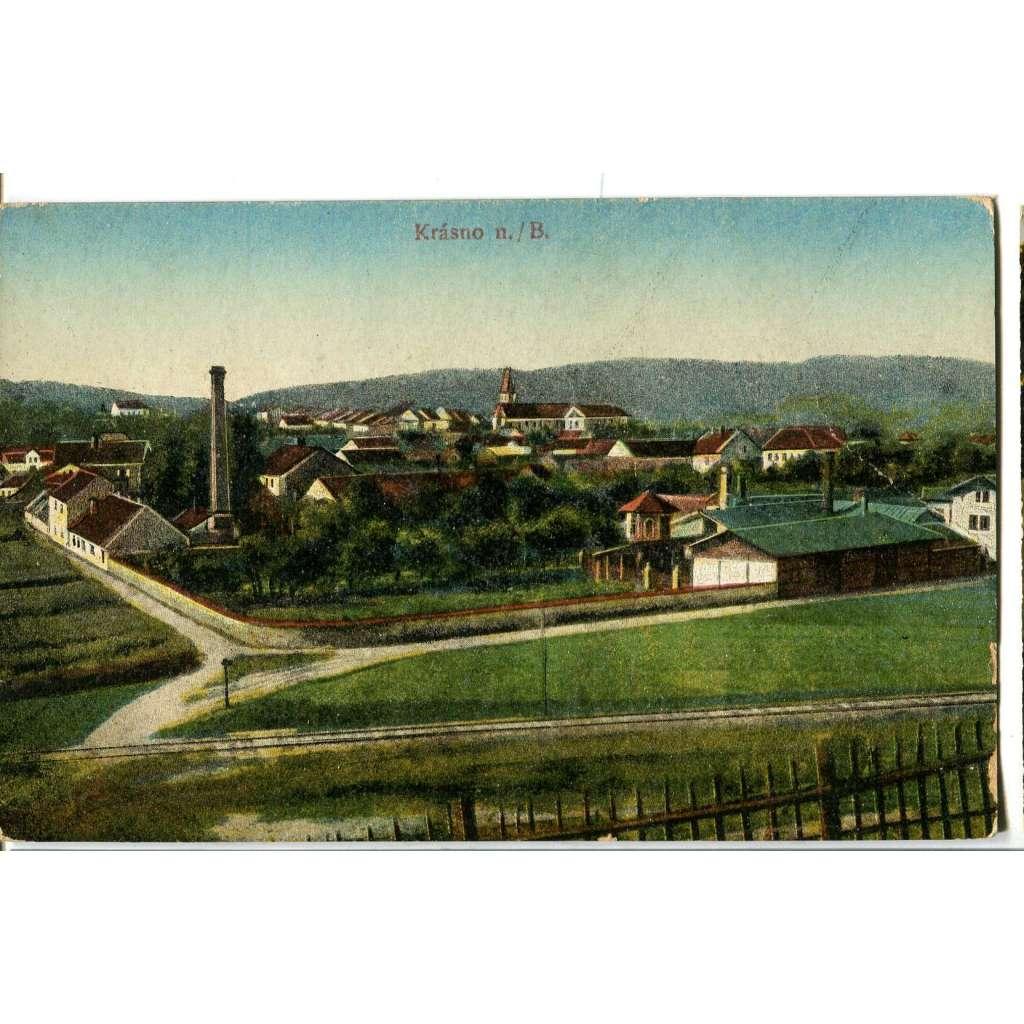Krásno nad Bečvou, Valašské Meziříčí, Vsetín