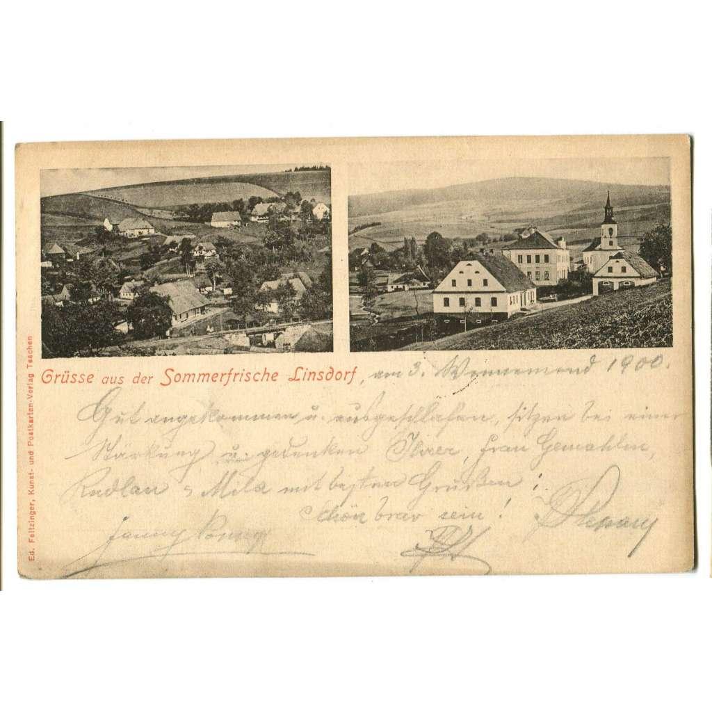 Těchonín, Linsdorf,, Letohrad, Ústí nad Orlicí..