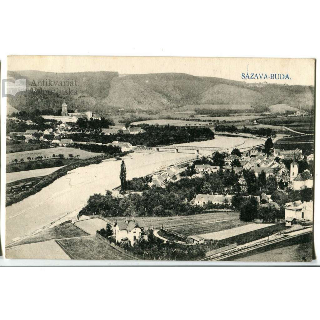 Sázava - Černé Budy