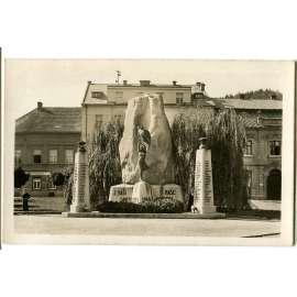 Praha Zbraslav, pomník padlým