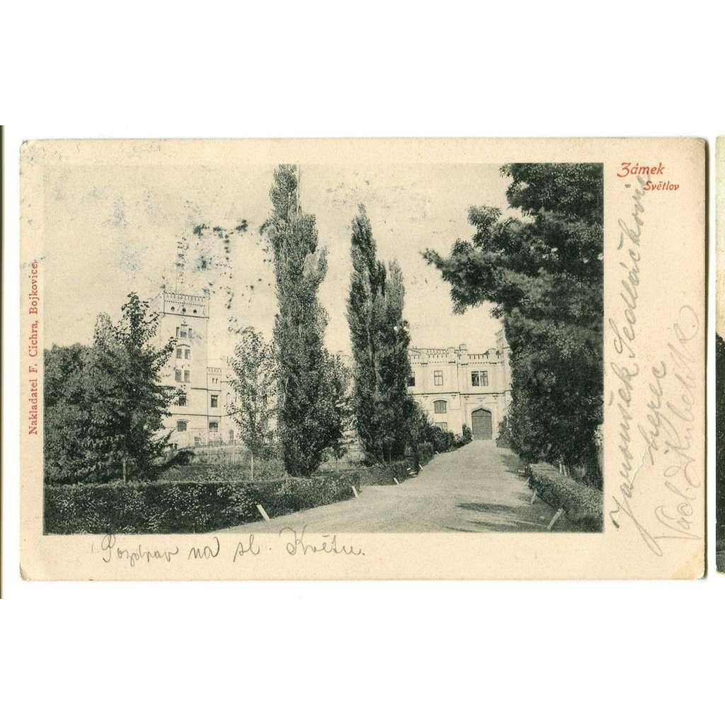 Bojkovice, Uherské Hradiště, zámek Světlov