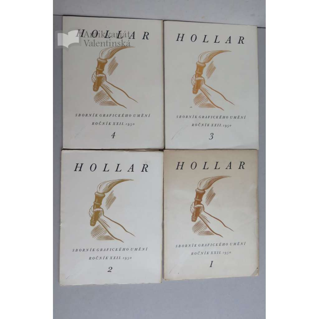HOLLAR - Sborník grafického umění - Roč. XXII., 1950/51