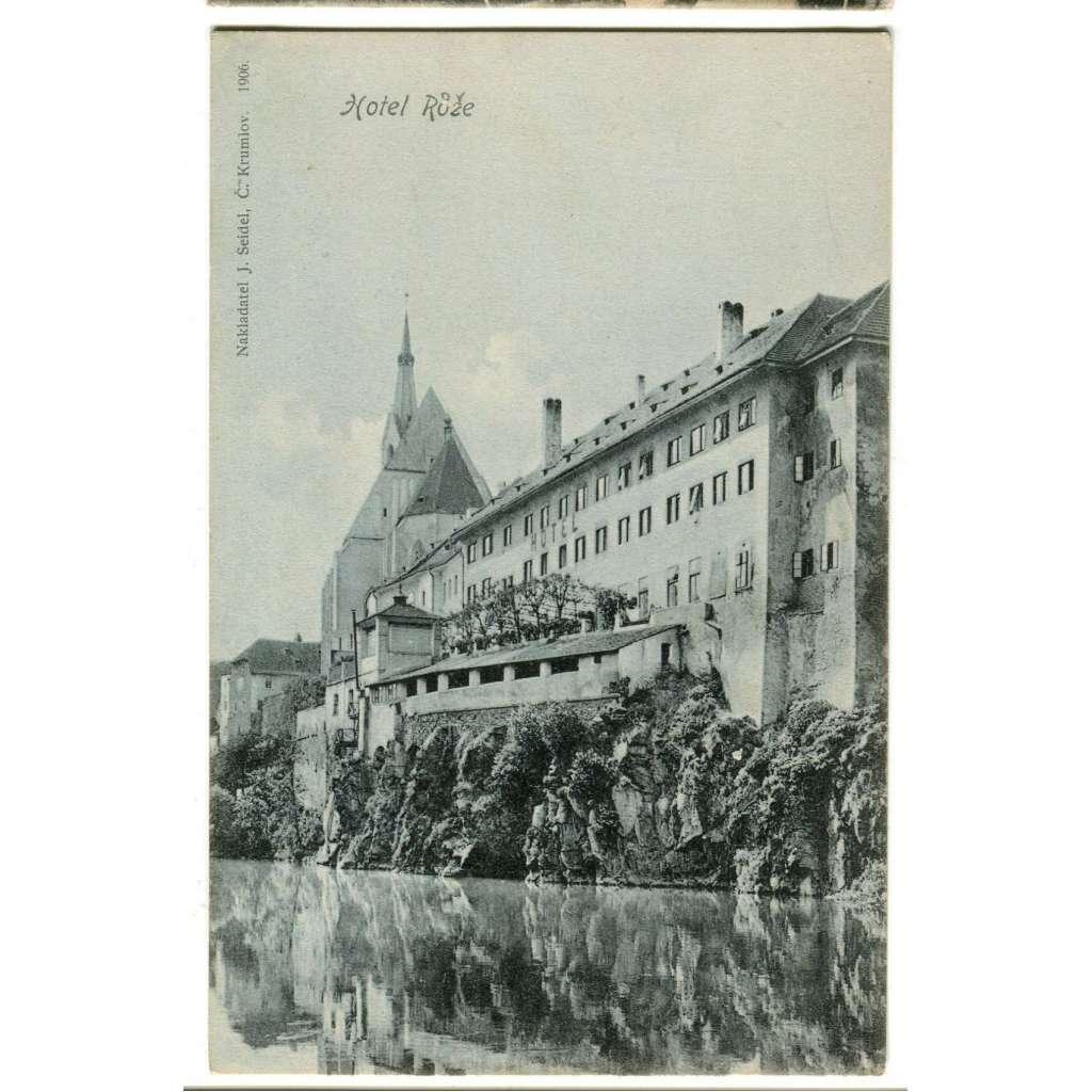 Český Krumlov, Šumava, hotel Růže