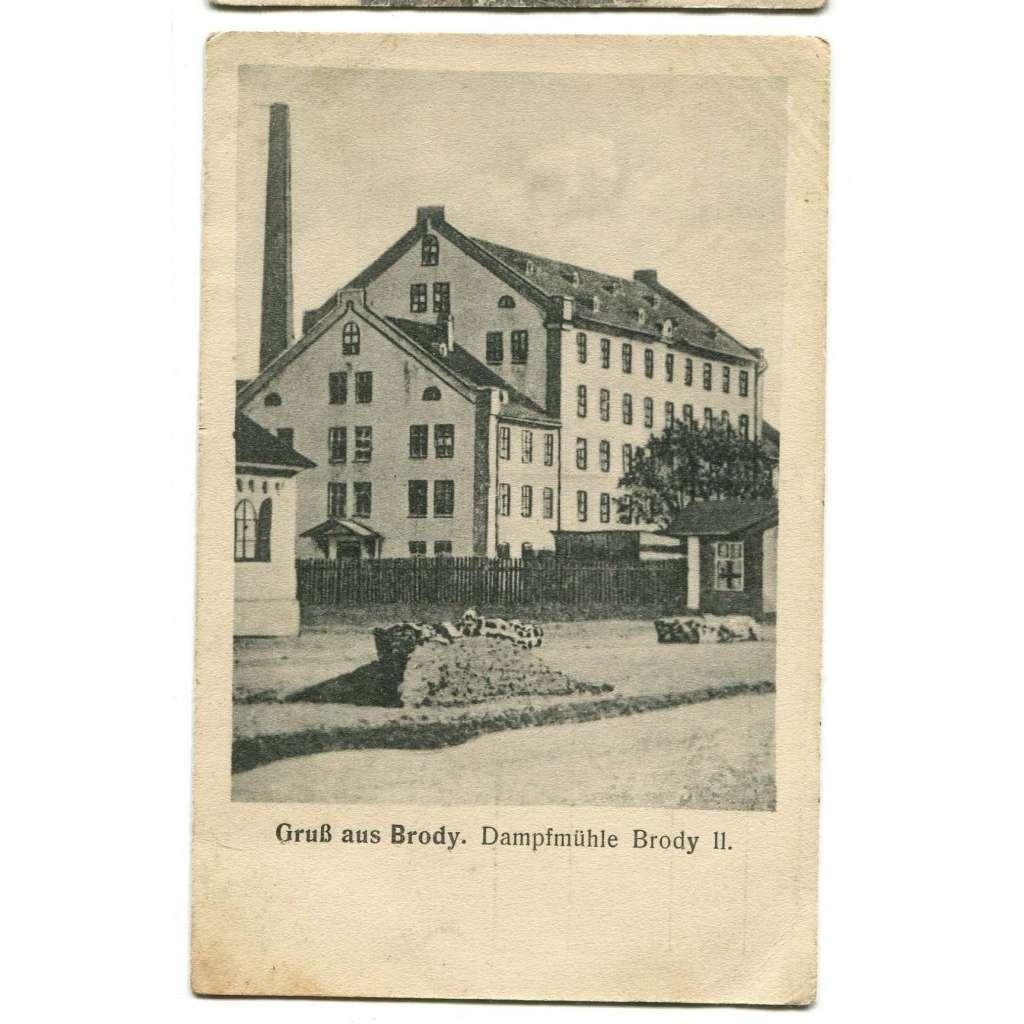 Brody, Ukrajina, Polsko, Rakousko-Uhersko, factory, továrna
