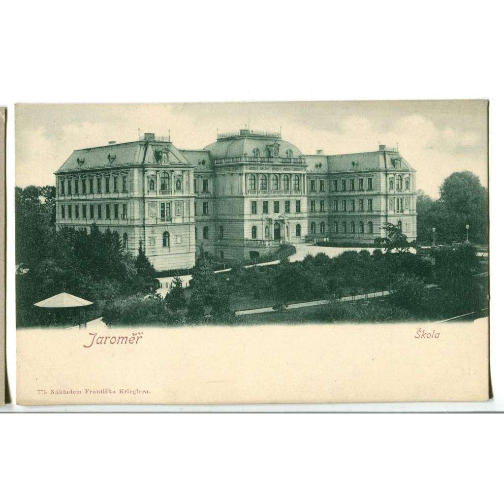 Jaroměř, Náchod, škola