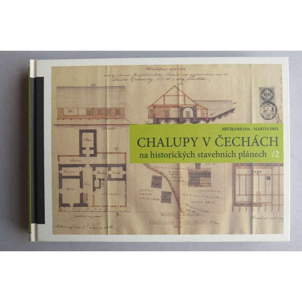 Chalupy v Čechách na historických stavebních plánech II