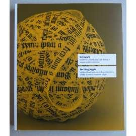 Listování. Moderní knižní kultura ve sbírkách Muzea umění Olomouc