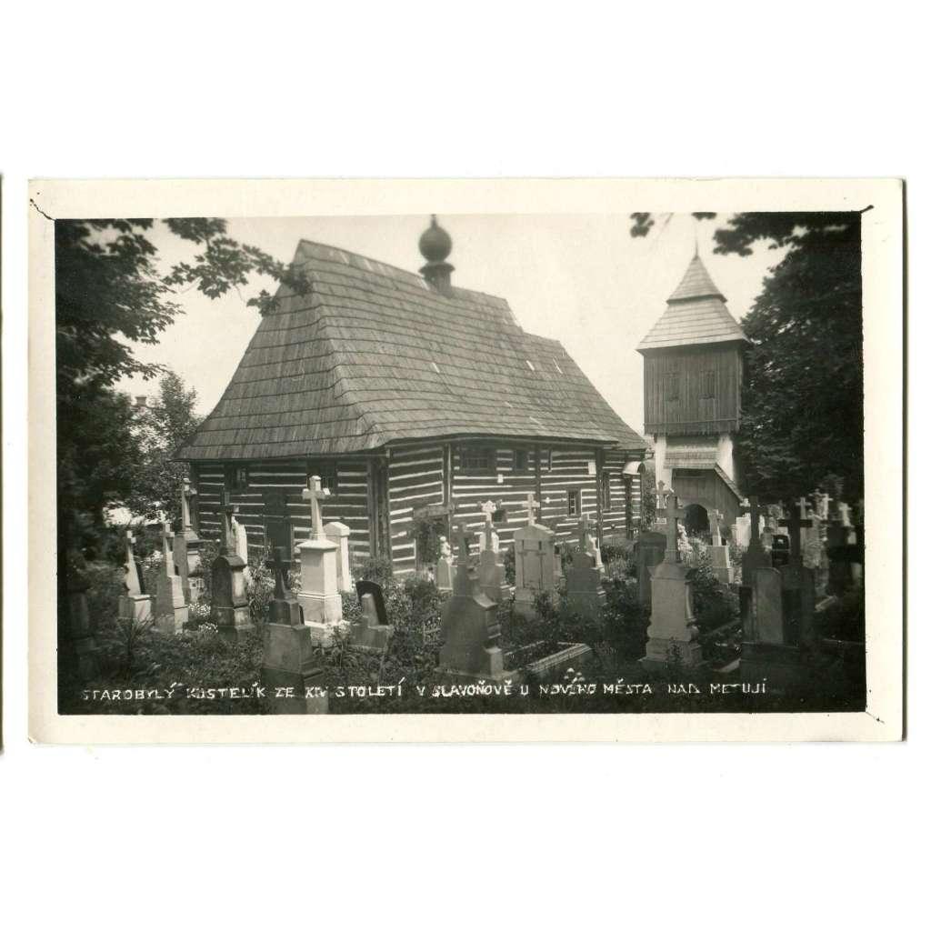 Slavoňov, Nové Město nad Metují, Náchod