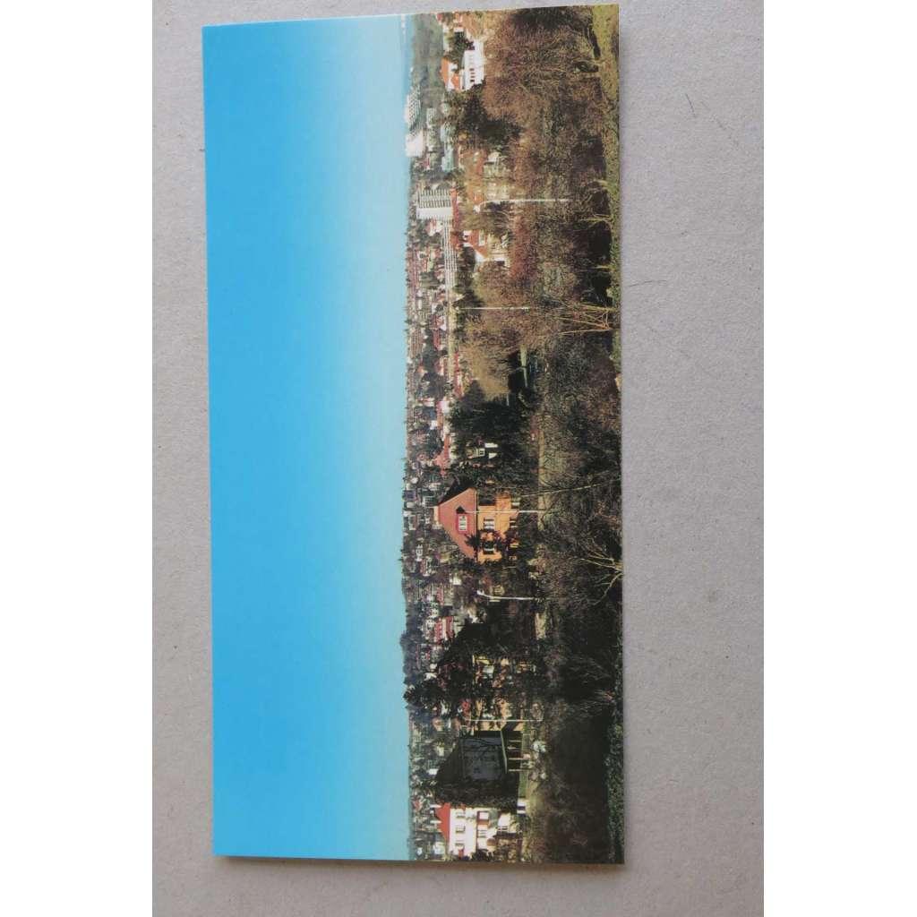 Panoramatická pohlednice - Dejvice - Hanspaulka