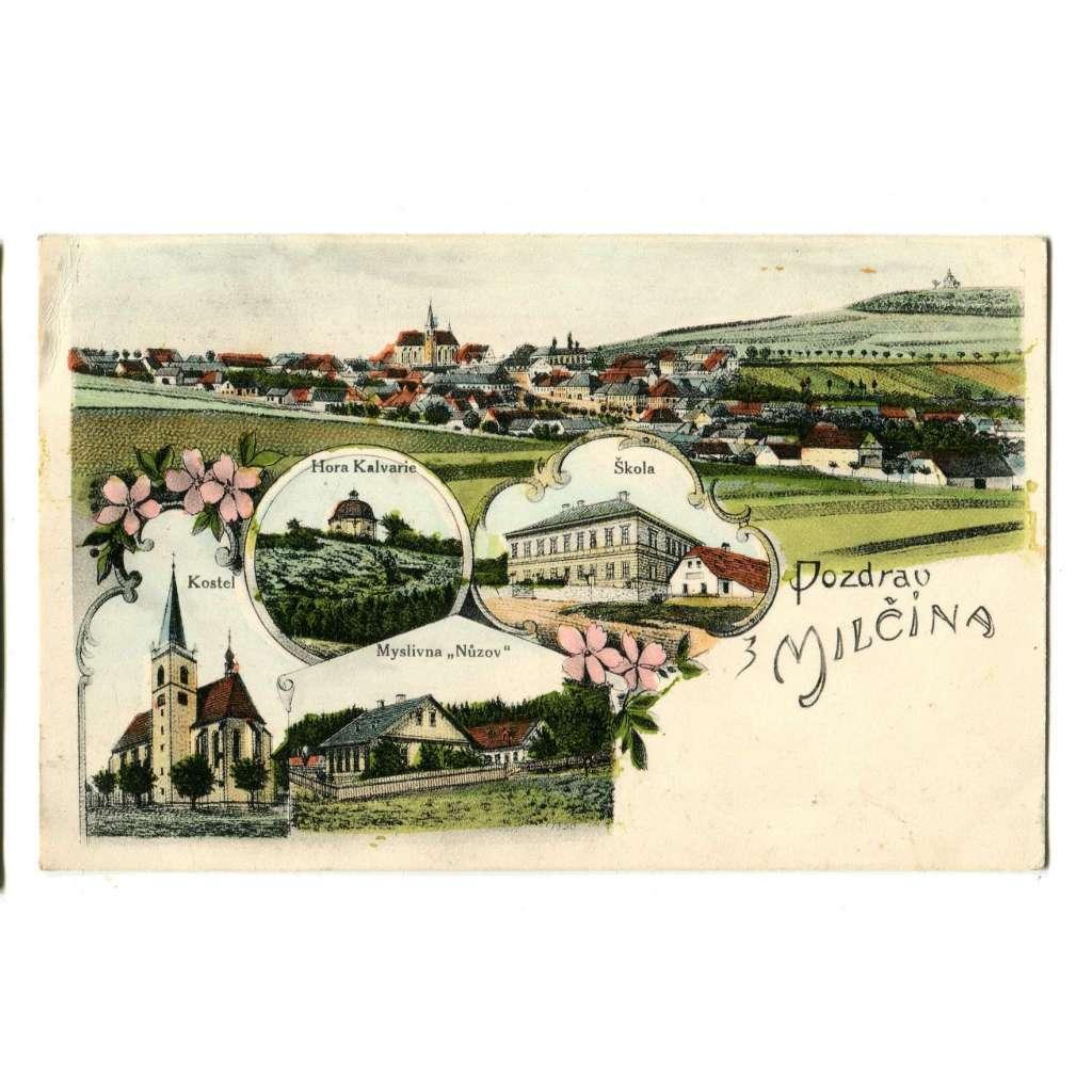 Miličín, Benešov, Tábor (typ jako litografie)