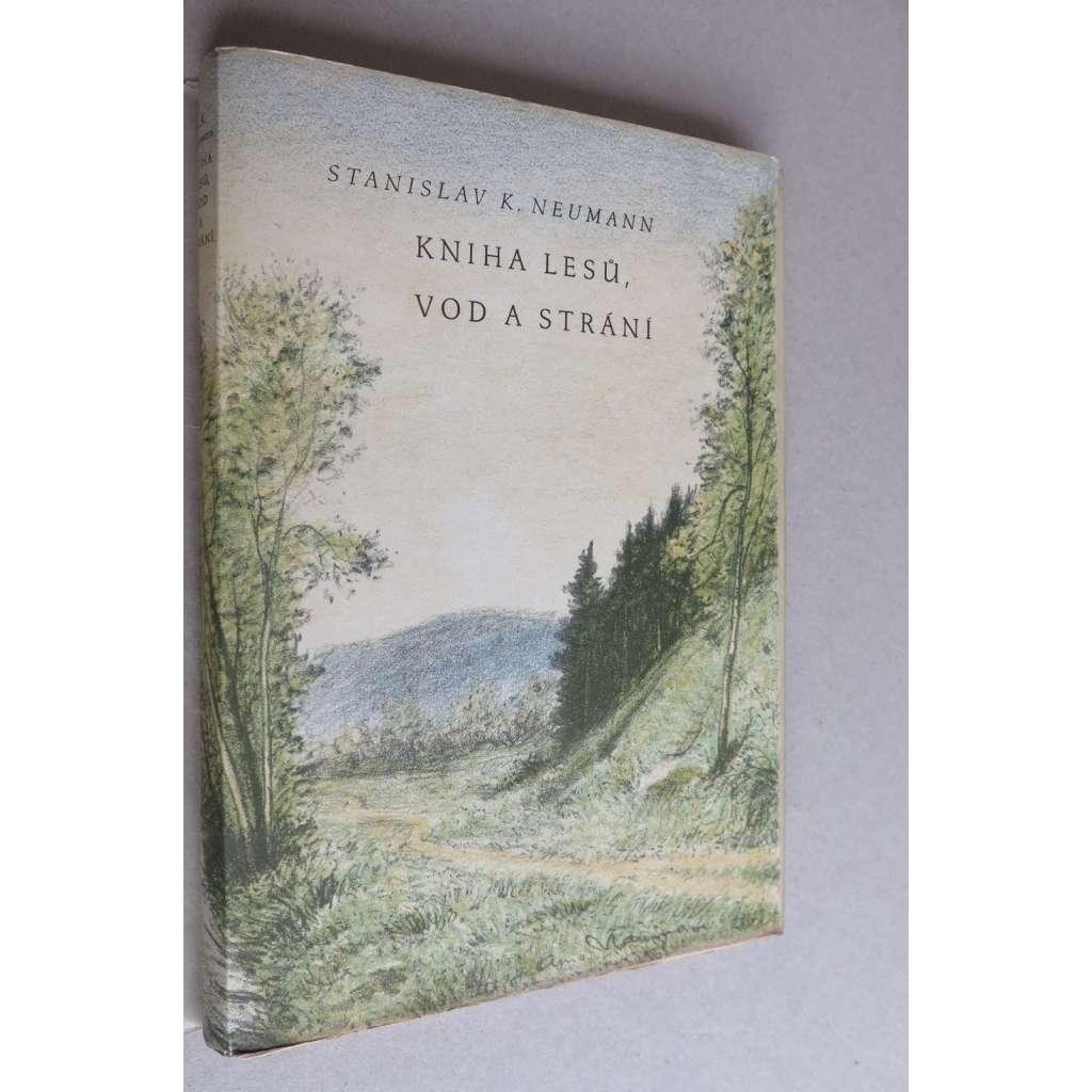 Kniha lesů, vod a strání (9x grafika Arno Nauman)