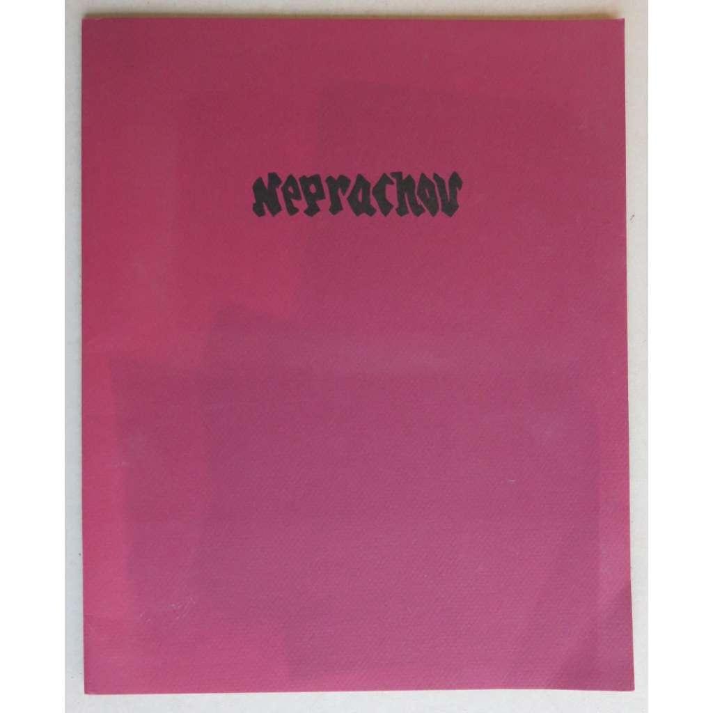 Neprachov (Josef Váchal - cyklus 10 barevných dřevorytů a linorytů) - novotisk 1995