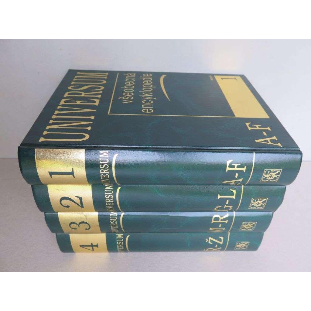 Universum - všeobecná encyklopedie - KOMPLET 4 svazků