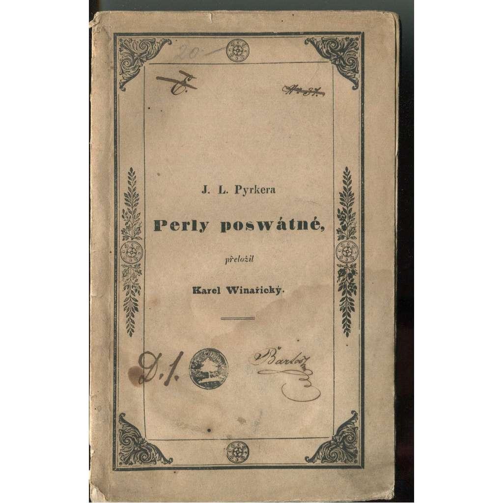 Perly posvátné - 1842