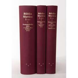 Svatováclavská bible - třídílná (faksimile) - KRÁSNÉ VAZBY- Biblia Slavica, Tschechische Bibeln, Bd. 4