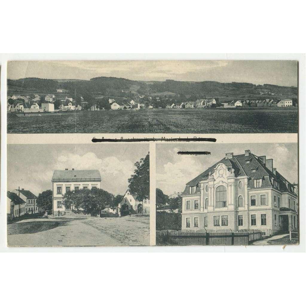 Mariánské Lázně - Úšovice, okr. Cheb,, Marienbad - Auschowitz, Bez. Eger