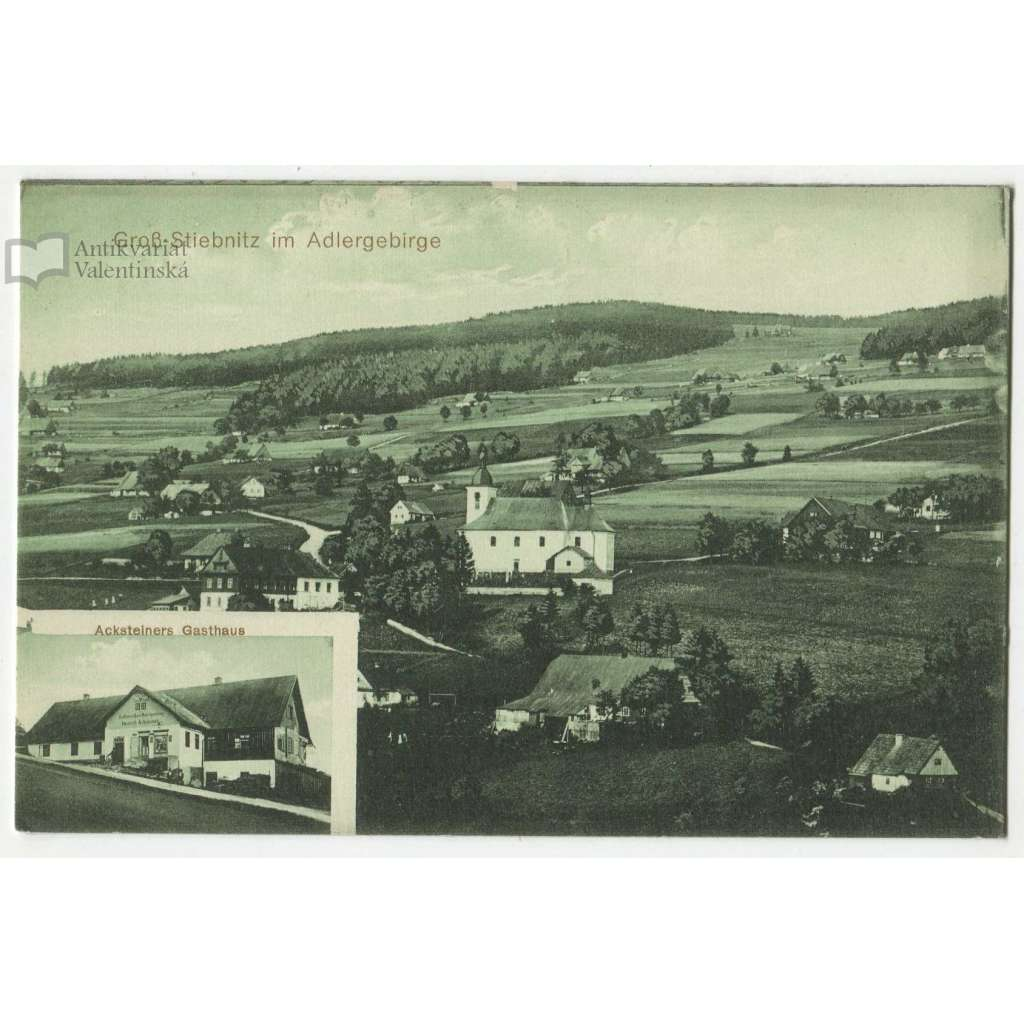 Zdobnice, Gross Stiebnitz, Rychnov nad Kněžnou, Orlické hory