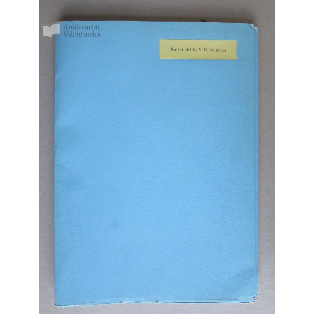 Knihžní obálky V. H. Brunnera
