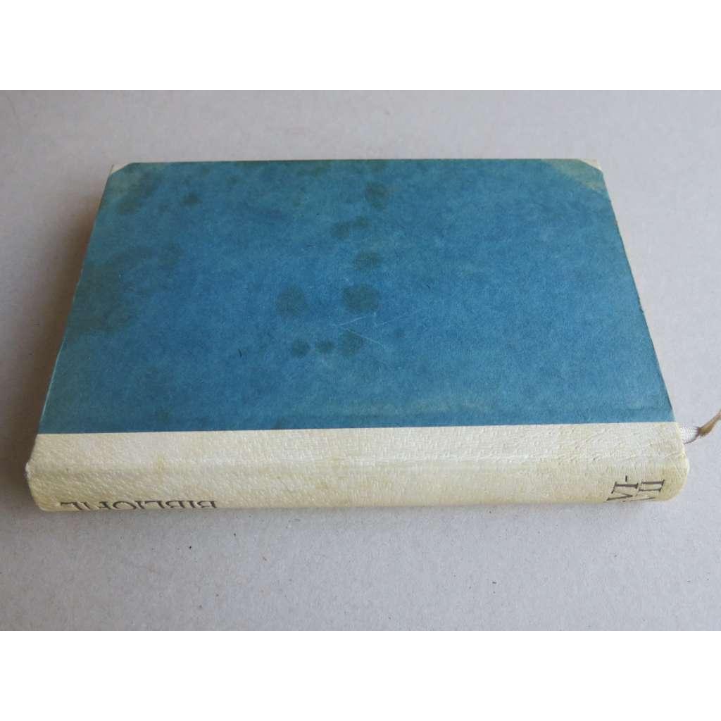 Bibliofil, časopis pro pěknou knihu a její úpravu, roč. XVI. (1939) a XVII. (1940) (s přílohami)