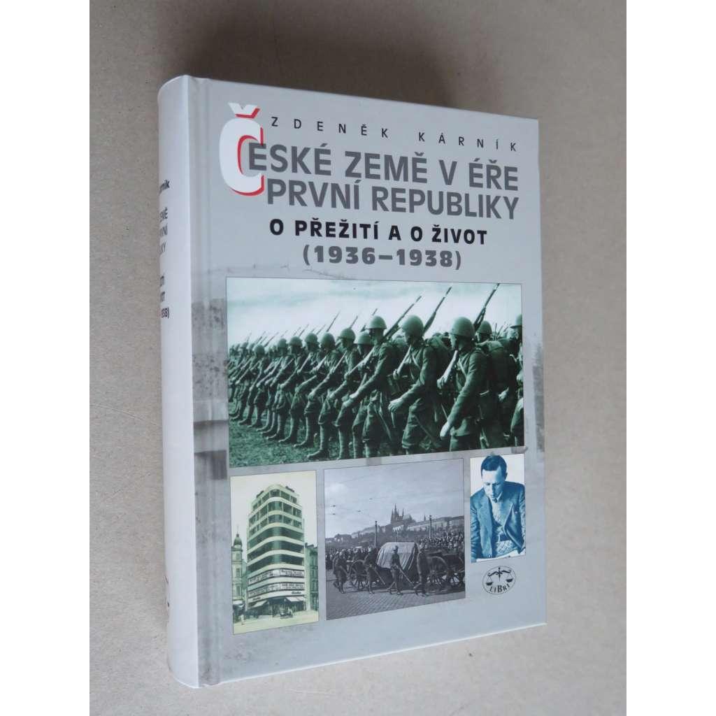 České země v éře První republiky 3. O přežití a o život (1936-1938)