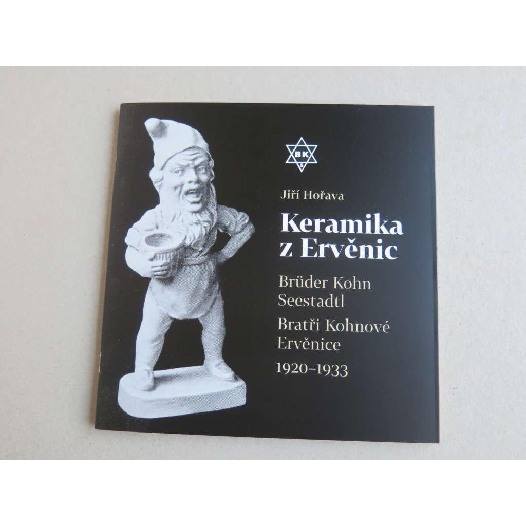 Keramika z Ervěnic - Brüder Kohn Seestadtl - Bratři Kohnové Ervěnice (1920-1933)