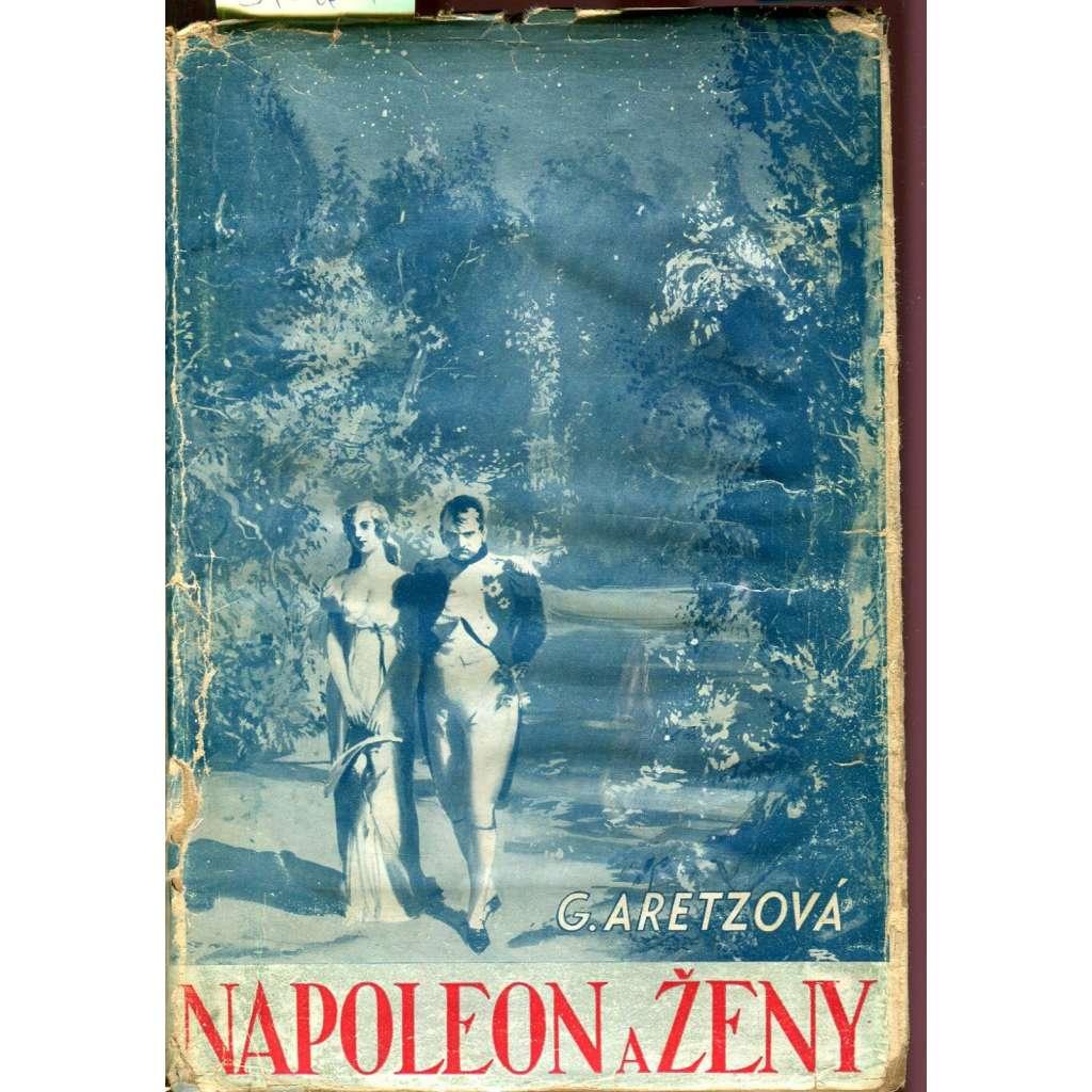 Napoleon a ženy (obálka Zdeněk Burian)
