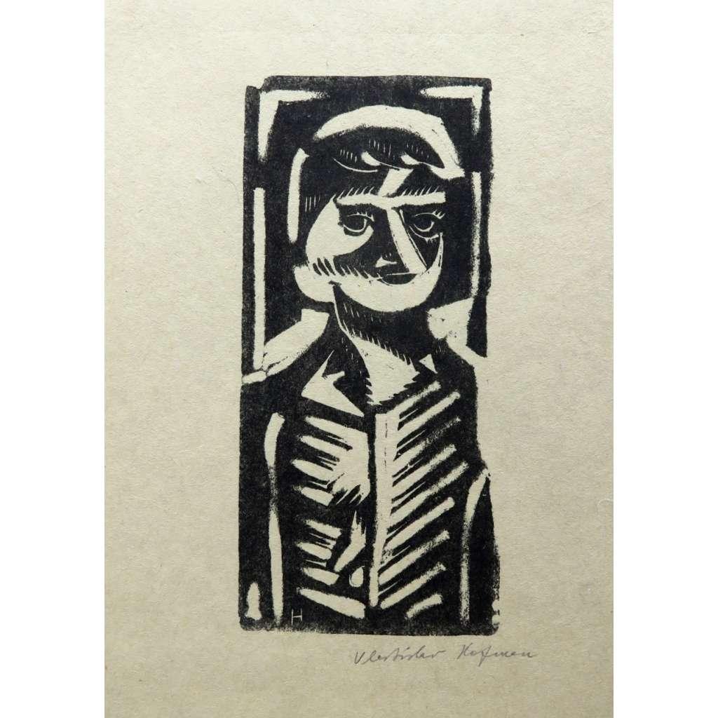 Podobizna muže  (sociální grafika dvacátých let)