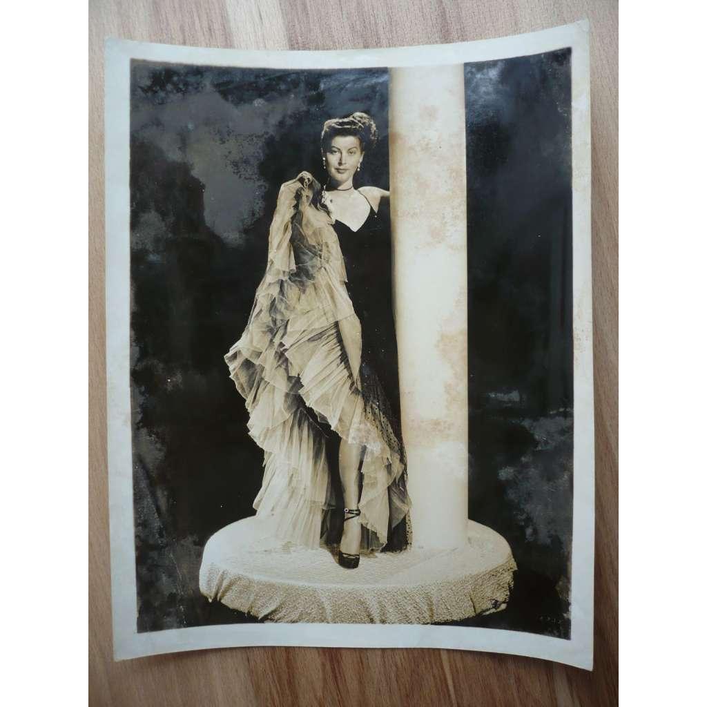 Fotoska - herečka Ava Gardner - ORIG. CINEMA-PHOTO