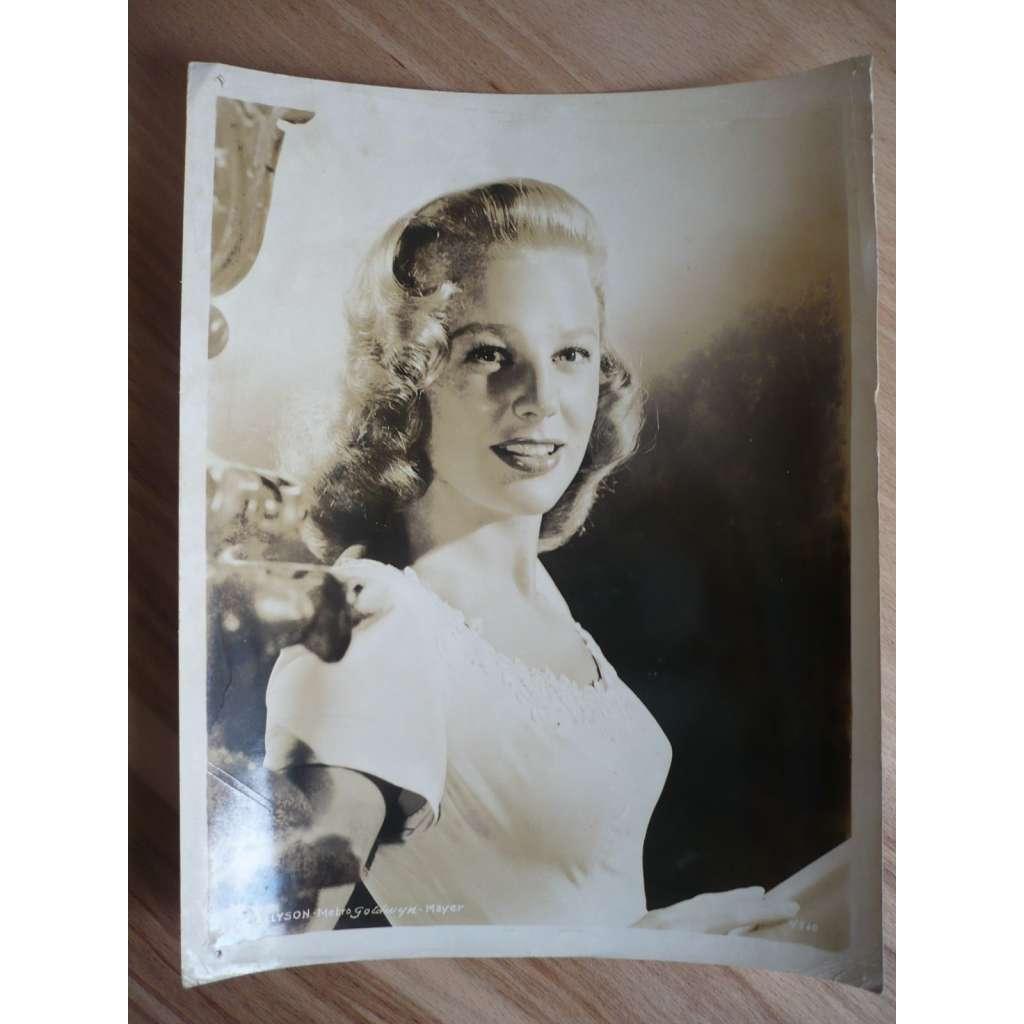 Fotoska - herečka June Allyson - ORIG. CINEMA-PHOTO