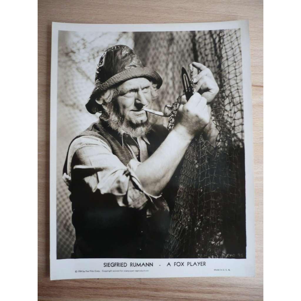 Fotoska - herec Siegfried Rumann - ORIG. CINEMA-PHOTO